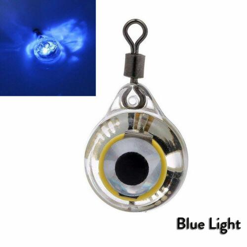 LED Underwater Attract Fishing Night Light Fisheye Glow Fluorescent Bait Lure GL