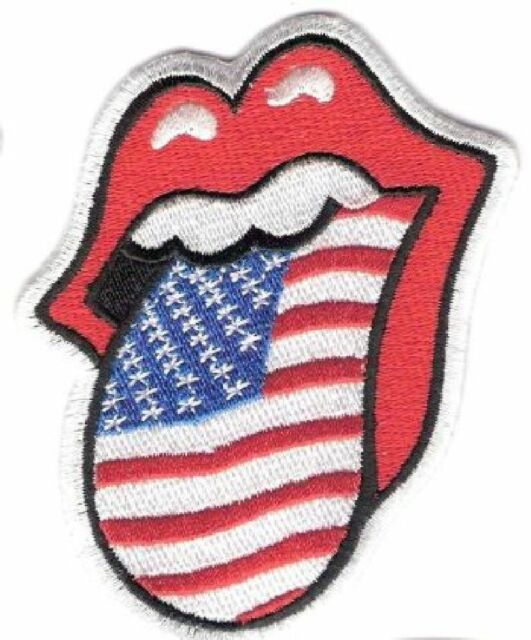 MICK JAGGER ROLLING STONES USA PATCH SBL15