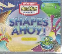 Harcourt School Publishers Math Harc Mm Shapes Ahoy Cd-rom Grades K-2