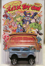 Hot Wheels CUSTOM MONSTER DAIRY DELIVERY 2015 Las Vegas Convention Real Riders!