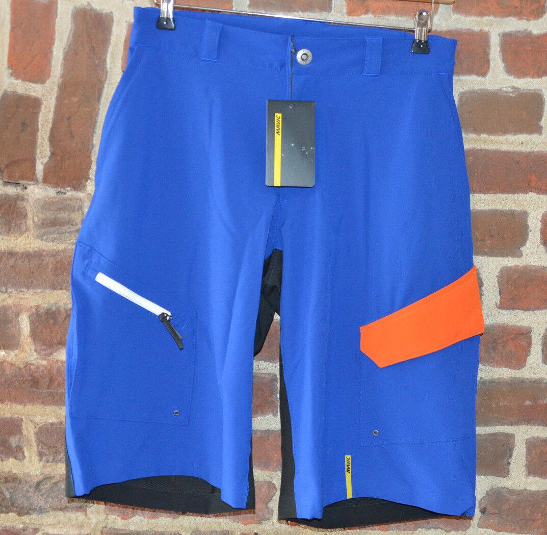Mavic Crossmax Crossmax Mavic Pro Short kurze Fahrrad Hose blau/schwarz/Orange SALE%%% 38d85c