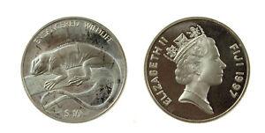 S1158-10-Fiji-10-Dollars-1997-Iguana-Silver-Proof
