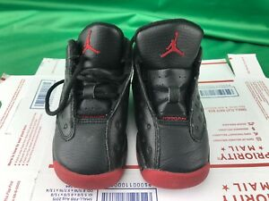 separation shoes 2868e 3d092 Image is loading Nike-Air-Jordan-13-Retro-DIRTY-BRED-Toddler-