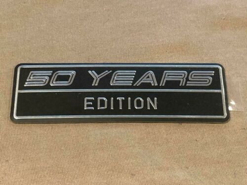 2015 2016 2017 2018 FORD MUSTANG 50 YEARS EDITION 50TH ANNIVERSARY PLAQUE EMBLEM