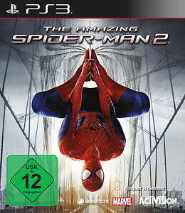 SONY-PS3-The-Amazing-Spider-Man-2-PlayStation-3-deutsch-OVP-gebraucht-Spiderman