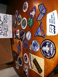 Vintage-Patch-lot-of-mixed-patches-craft-or-collection-NASA-and-more