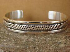 Native American Jewelry Sterling Silver Bracelet by Bruce Morgan!