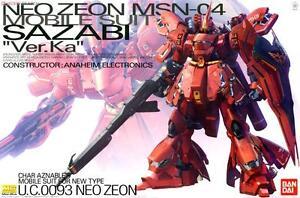 Bandai-NEW-MG-1-100-Sazabi-Ver-ka-MSN-04-Gundam-model-kit