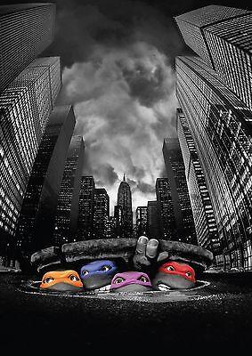 The Teenage Mutant Ninja Turtles TMNT POSTER PRINT A4 260GSM