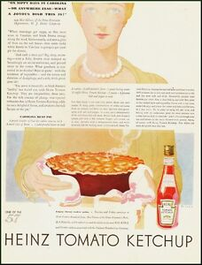 1920s-vintage-ad-for-HEINZ-TOMATO-KETCHUP-Carolina-Meat-Pie-Recipe-a104