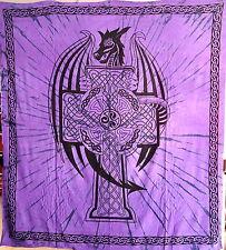 Indien indische orientalische Decke Tagesdecke Stoffe Wandteppich India covers F
