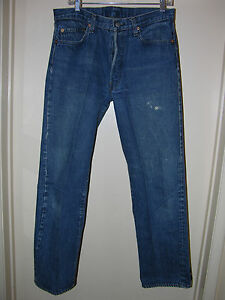 501-LEVI-039-S-Vintage-Early-1980-039-s-35-33-MAD-FABULOUS-JEANS-ONE-ORIGINAL-OWNER-Me