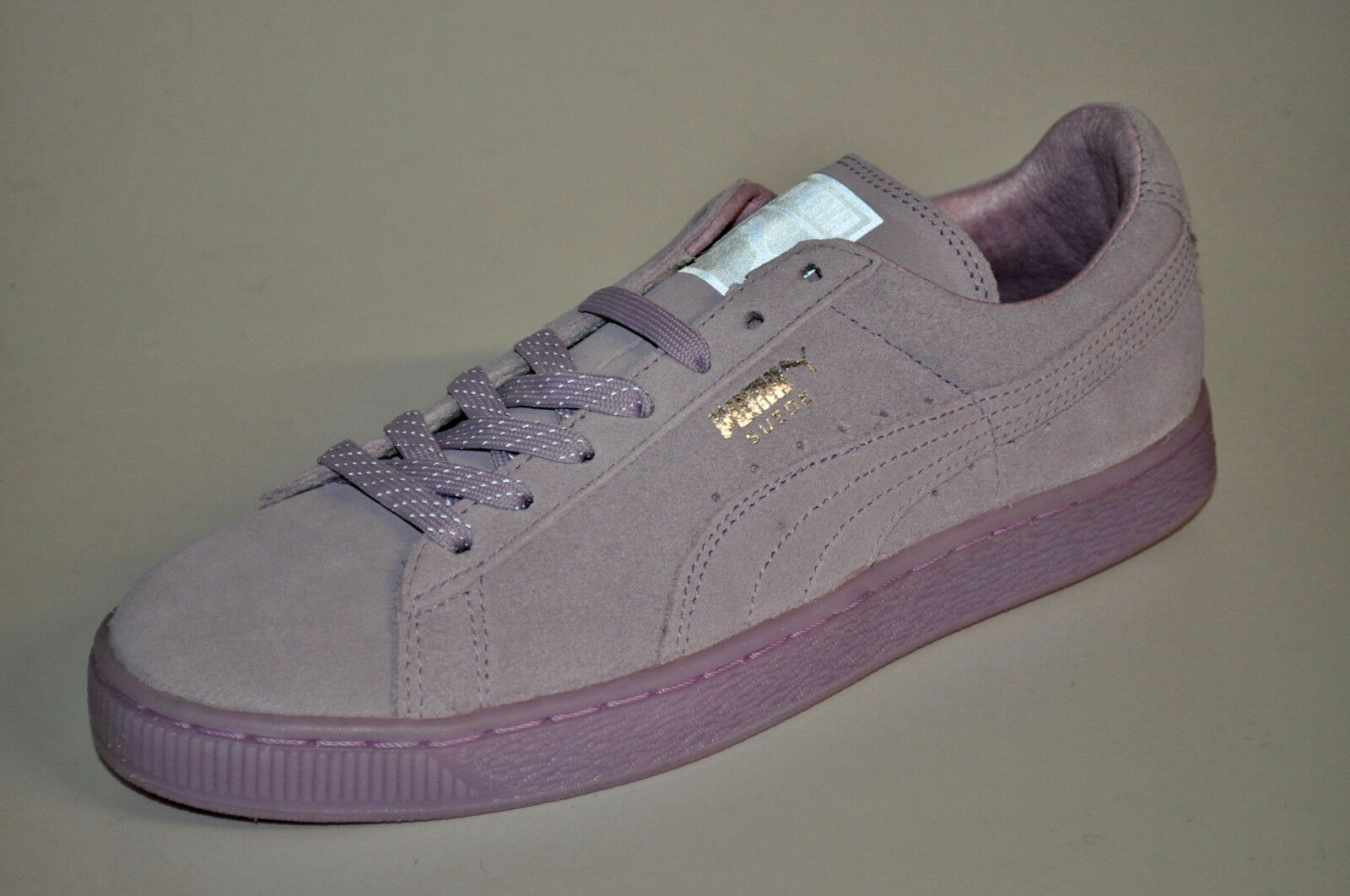 Puma Suede Classic 36210101 Lead Mono Ref Iced Lead 36210101 Orchid Bloom Silver d04c2b