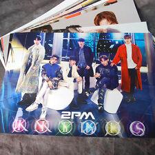 K-POP 2PM JUN.K NICHKHUN TAECYEON 12cut Posters (12PCS) Collection Bromide