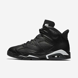 2016 Nike Air Jordan 6 VI Retro Black Cat Size 13. 384664-020 1 2 3 4 5