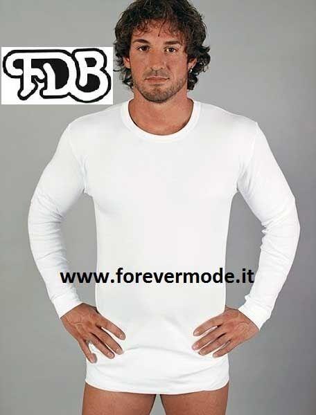3 Camiseta hombre de hombre Camiseta FDB manga larga cuello de tortuga de algodón cálido 1f3ecb