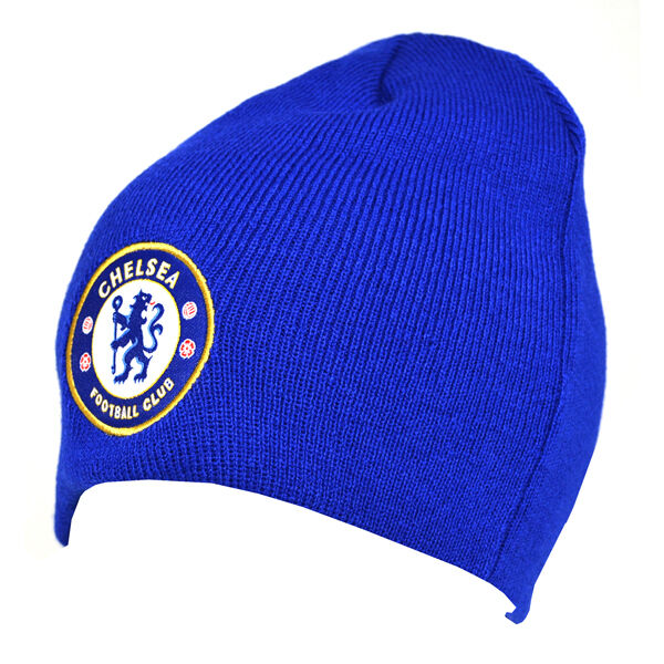 fcb53e97b24 Chelsea F.c. Knitted Hat RY Football Sport Winter Beanie Birthday Christmas  Gift