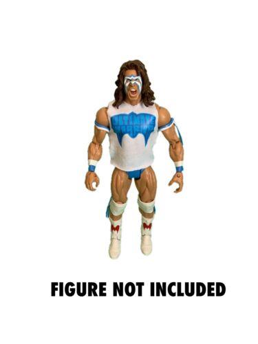 WWE Ultimate Warrior /'Warrior Spirit/' Custom Shirt For Mattel Figures.