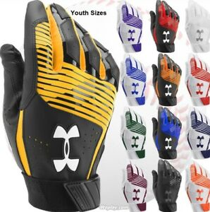 Under-Armour-Clean-Up-Baseball-Softball-Batting-Gloves-Youth-Boy-039-s-Kids-1299531
