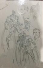 Batman, Original Comic Art, Mark Bagley, 1994