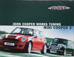 John Cooper Works Tuning Mini Cooper S German Market Brochure