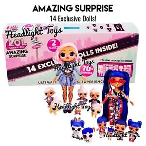 Details About In Hand Lol Amazing Surprise 14 Exclusive Dolls Winter Disco Omg Tots Lils Pets