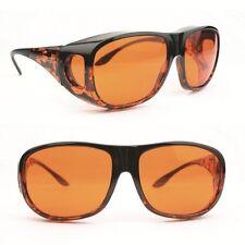 Eschenbach Solar Shields Orange Filter - Small Size FitOver Sunglasses New