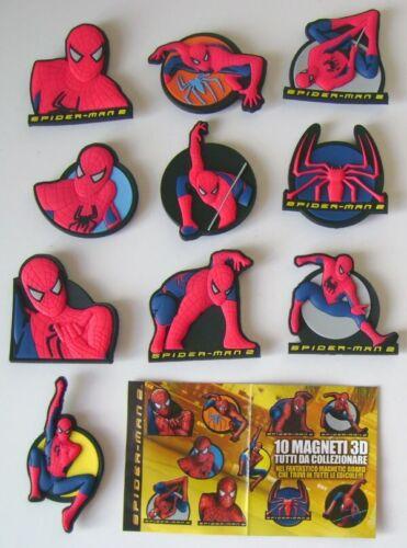 Spider-Man 2 Magneti 3D Serie Completa Prominter