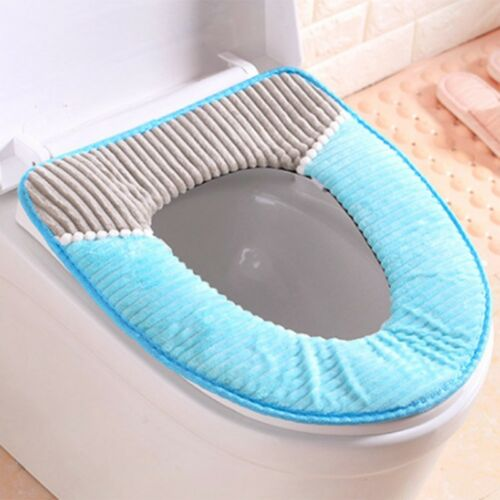 Badezimmer Toilette Sitzbezug Toilettendeckel Matte Waschbar Weich Pad Perfekt