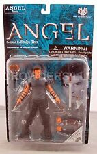 "VAMPIRE ANGEL from TV's Angel/Buffy the Vampire Slayer 6"" Action Figure '01 NIP"