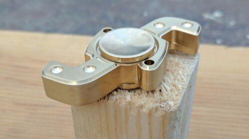 Brass Fidget Hand Spinner Toy Solid body made of Brass