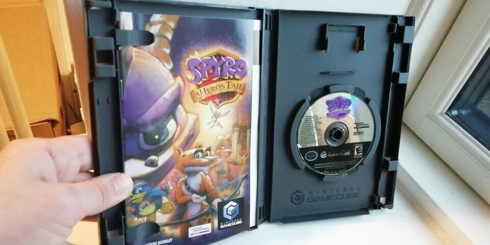 Spyro: A Hero's Tail, Gamecube