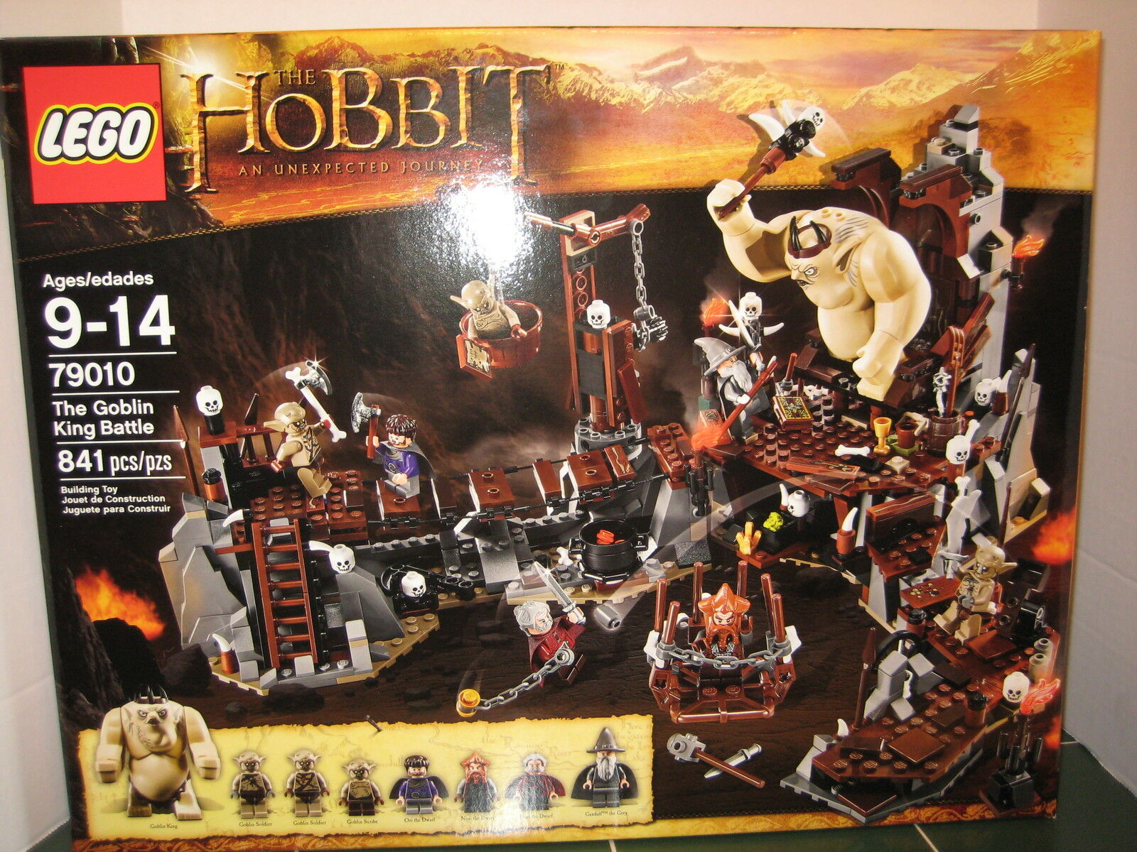Lego The Hobbit The Goblin King Battle   79010 Gandalf the Grau