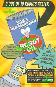 Futurama-9-out-of-10-Robots-Bender-1999-FOX-TV-Print-Ad