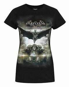 Batman-Arkham-Knight-Batmobile-Women-039-s-T-Shirt