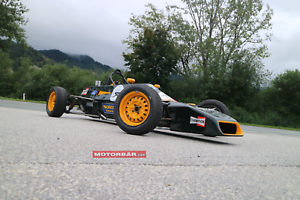Formel-Ford-Van-Diemen-Racing-Ayrton-Senna-da-Silva-Rennwagen-Rennauto-Historic