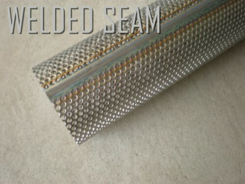 409 STAINLESS STEEL perforated exhaust tube 4 FOOT LONG 3.0 in