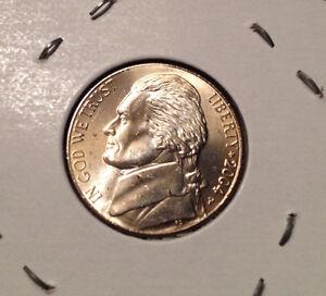 BU United States 2004 P Jefferson nickel 1803 Louisiana Purchase 5 cent 5c coin