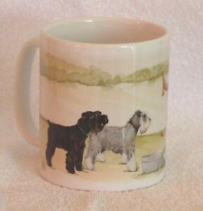 SCHNAUZER-MINIATURE-DOG-MUG-PRINT-OFF-TO-THE-DOG-SHOW-DESIGN-SANDRA-COEN-ART
