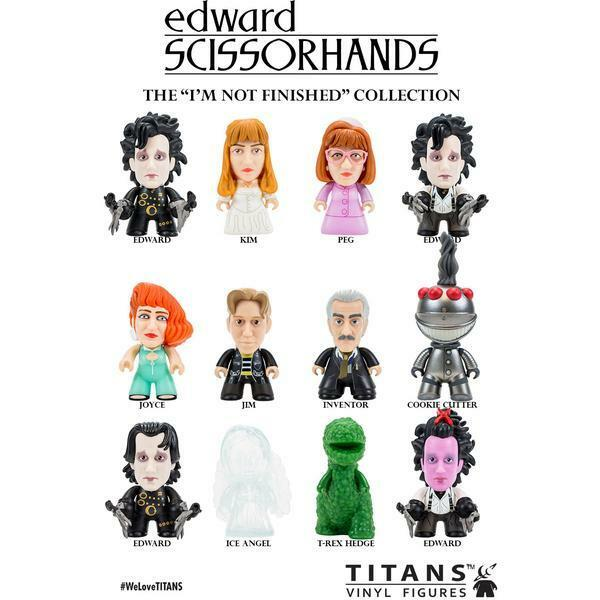 EDWARD SCISSORHANDS VINYL 3.5
