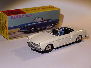 Peugeot-404-cabriolet-white-black-interior-ref-528-at-1-43-dinky-toys-atlas