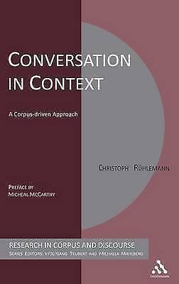 Conversation in Context, Ruehlemann, Christoph, New Book