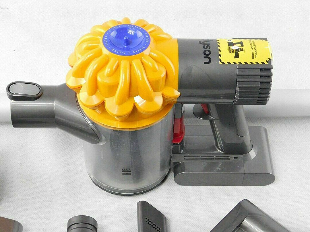 Dyson V6 Slim Cordless Vacuum Cleaner Yellow For Sale Online Ebay