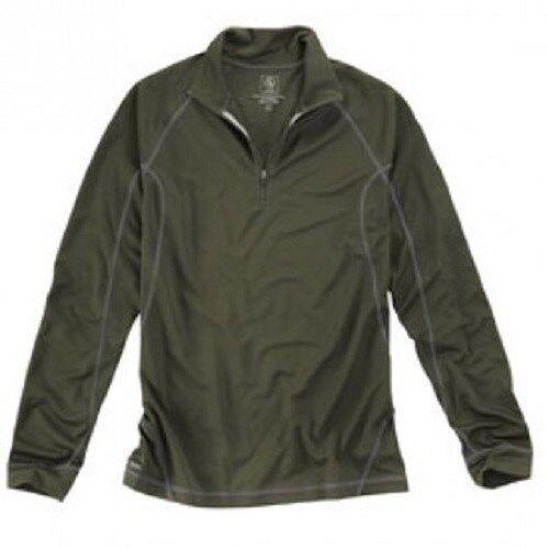 Aigle Thermo-bajo Thermo-bajo Thermo-bajo camisa ekxa-Polartec Power dry-bronce-fantástico caliente  927bc0