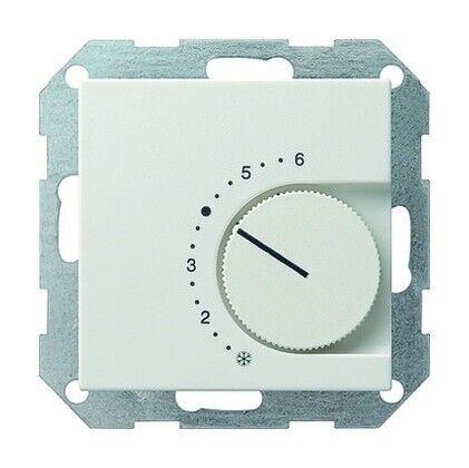 Gira Raumtemperaturregler reinweiß 1Ö Unterputz IP20 230V mit.. 039003