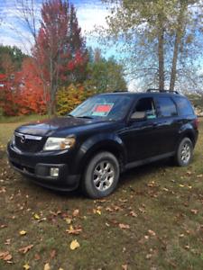 Mazda Tribute 2011 noir, manuelle 163000km
