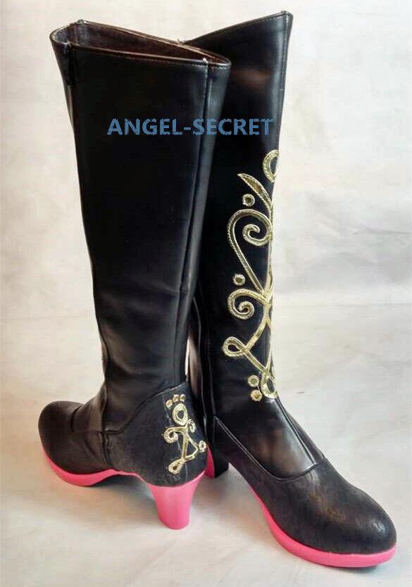 PAS02 princess Anna boots frozen size 34-41 tailor made