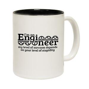 Image is loading Funny-Mugs-Engineer-Sarcasm-Joke-birthday-gift-Pun-