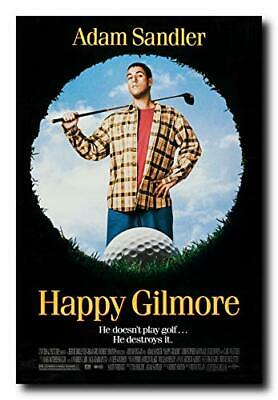 Happy Gilmore Movie Poster Glossy Finish MOV511 Posters USA