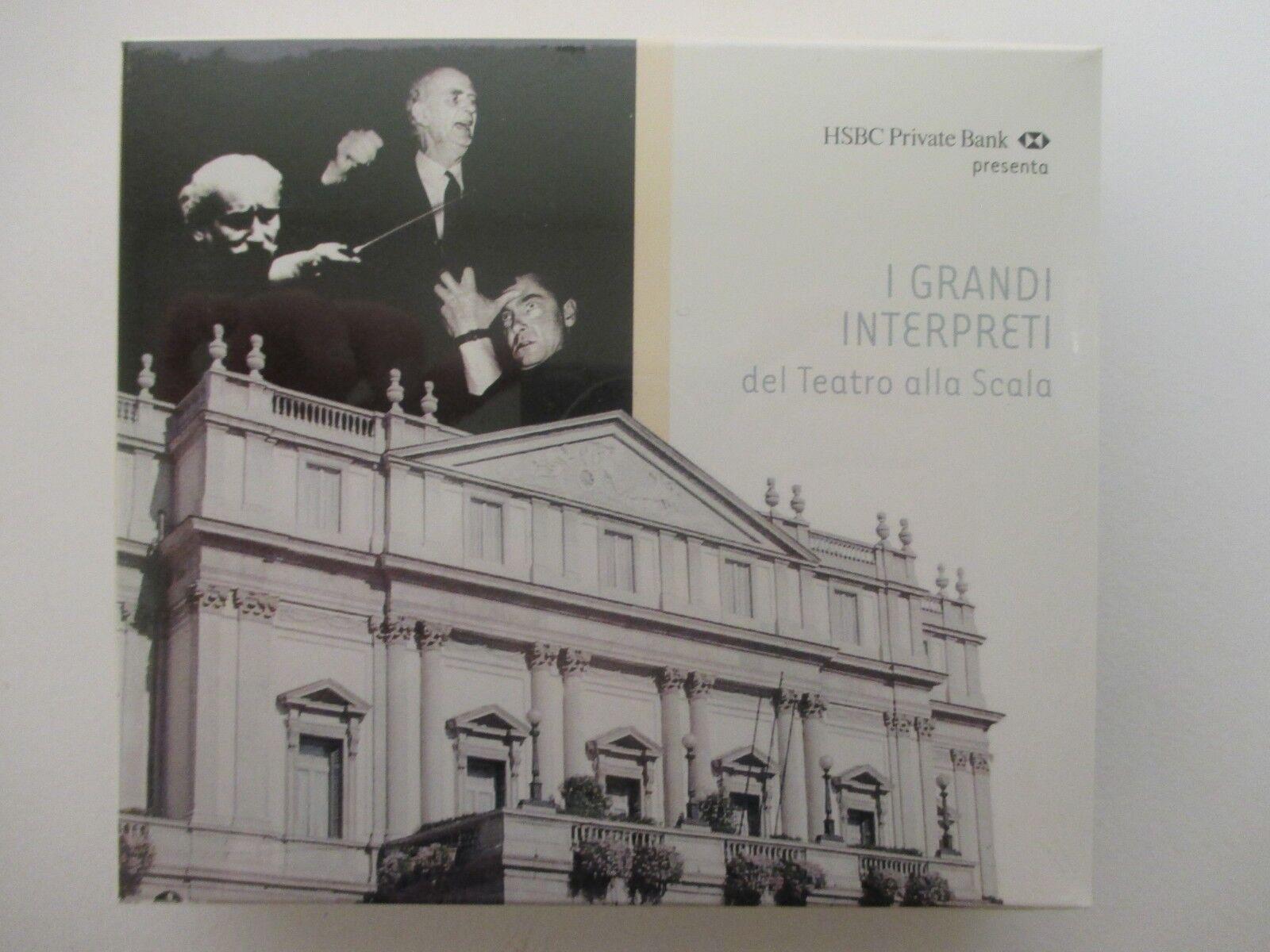 I Grandi Interpreti del Teatro alla Scala - 2 Cd + Libretto